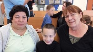 Tia, Brady, Grandma Donna